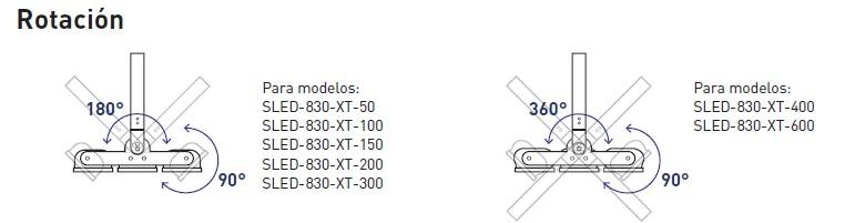 RotacionSLED-830-XT