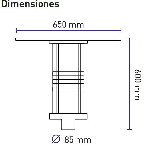 dimensionesHAT