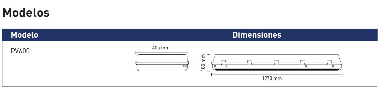 modelos pv600